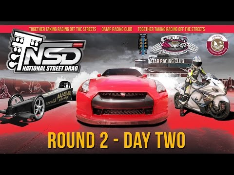 2017 Qatar National Street Drag Championship - Round 2 - Day Two