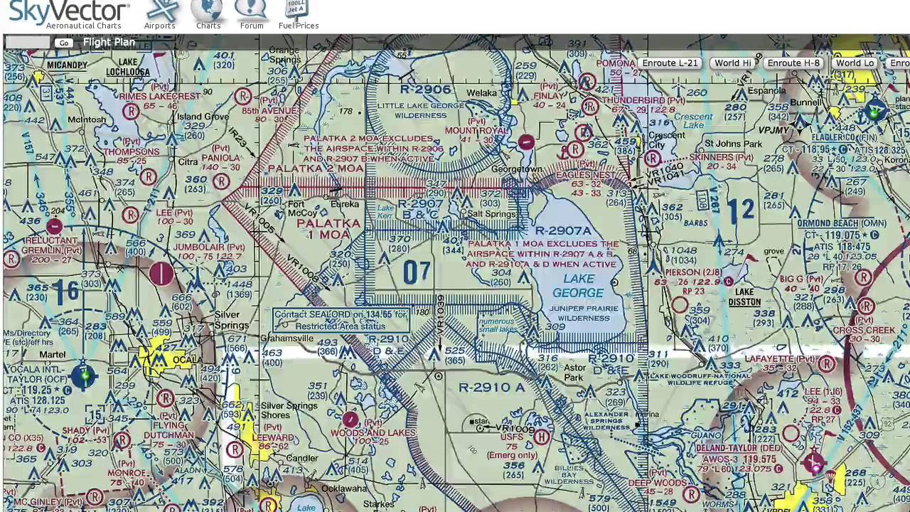 Skyvector flight vfr planning - Ground School Private Pilot Flight Planning Resources Skyvector Vfrmap Com