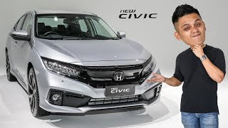 FIRST LOOK: 2020 Honda Civic facelift with Sensing in Malaysia - RM114k-RM140k