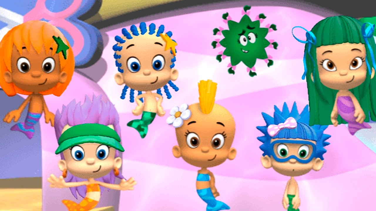 GOOD HAIR DAY - BUBBLE GUPPIES GAMES