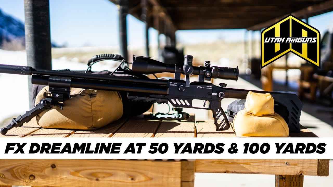 FX Dreamline at 50 & 100 Yards | Utah Airguns