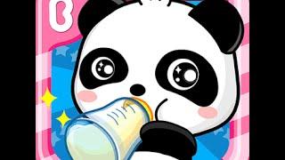 Обучающая игра Уход за малышом пандой