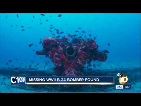 Missing WWII B-24 bomber found