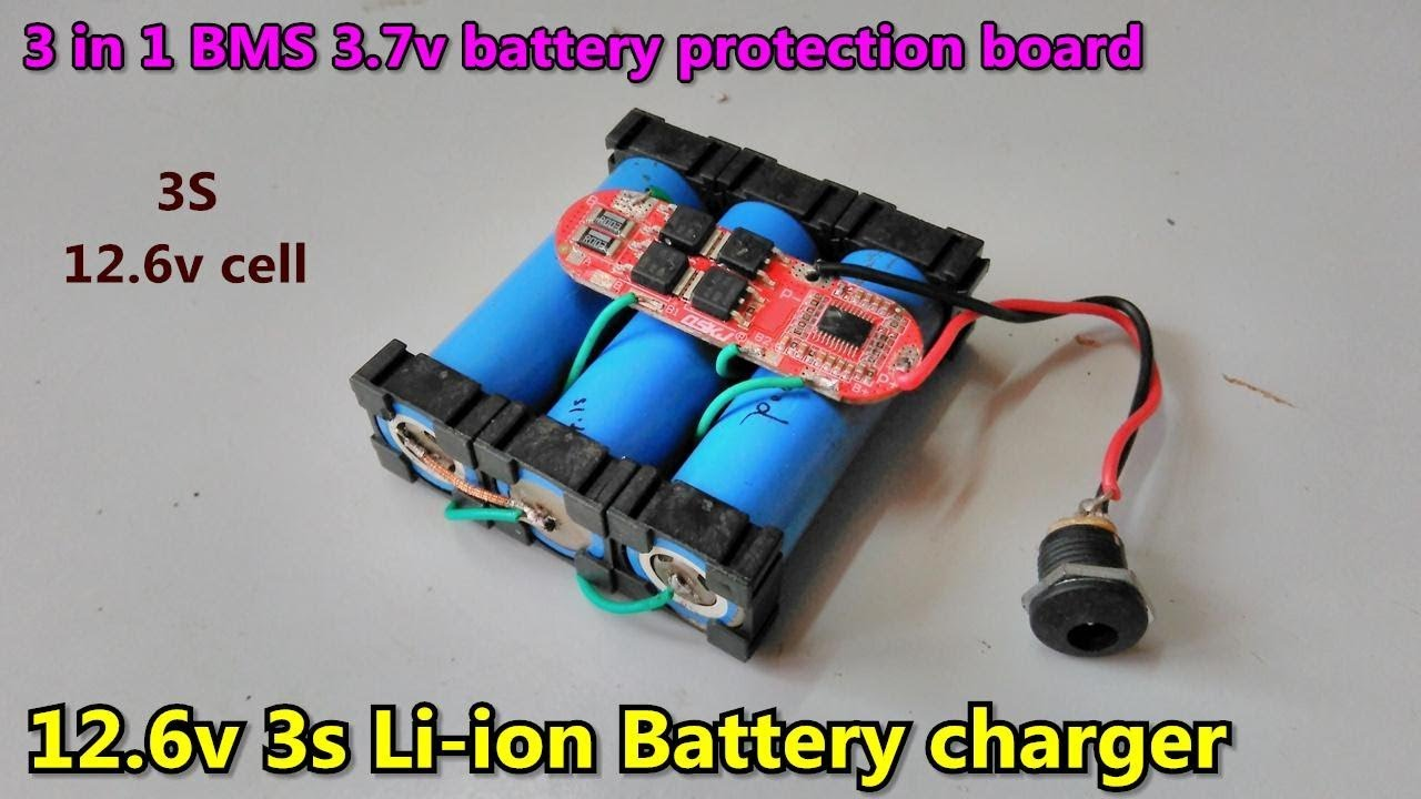 3 Pack 3S 12.6V 25A Li-ion Lithium Battery 18650 Protection Balance BMS Board