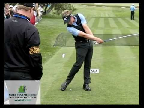 World No1 Luke Donald FO Slow Motion Golf Swing 300 FPS