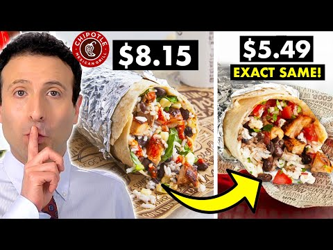 10 FAST FOOD SECRETS That Will Save You Money! #2