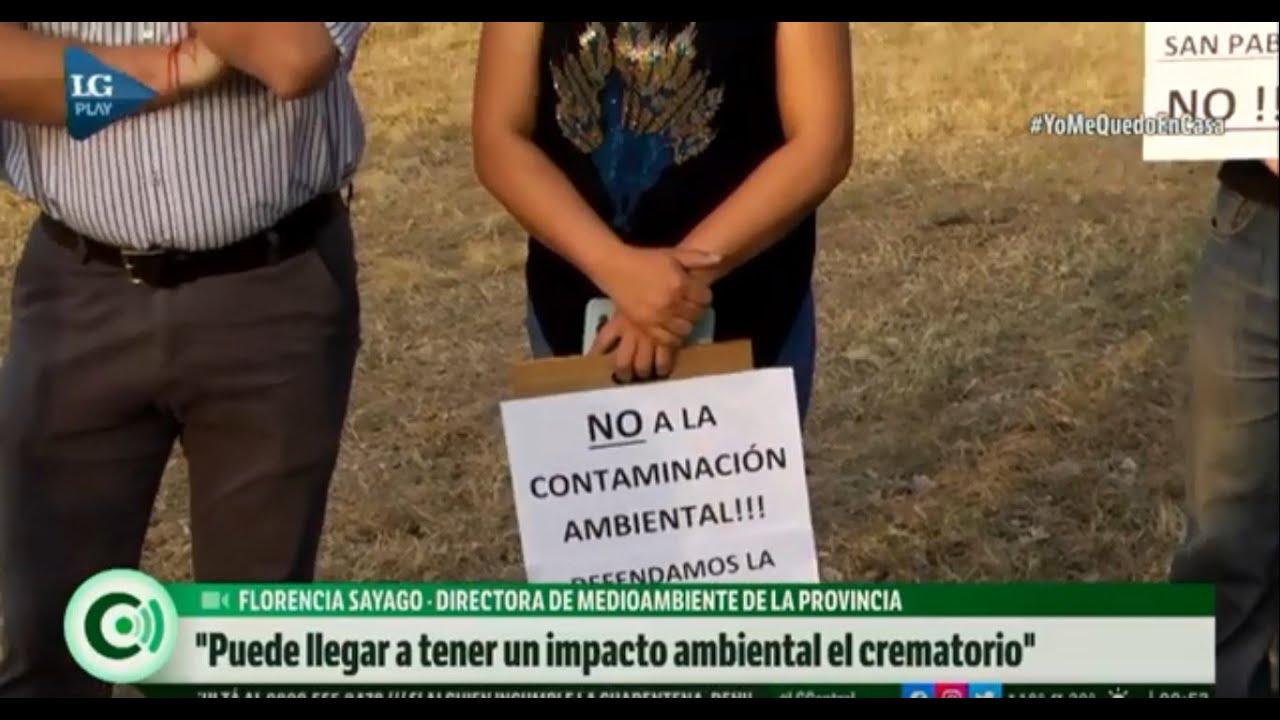 Los efectos ambientales de la instalación del crematorio en San Pablo