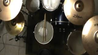 Alesana - 05. Daggers Speak Louder Than Words (Drum Cover) by Hery