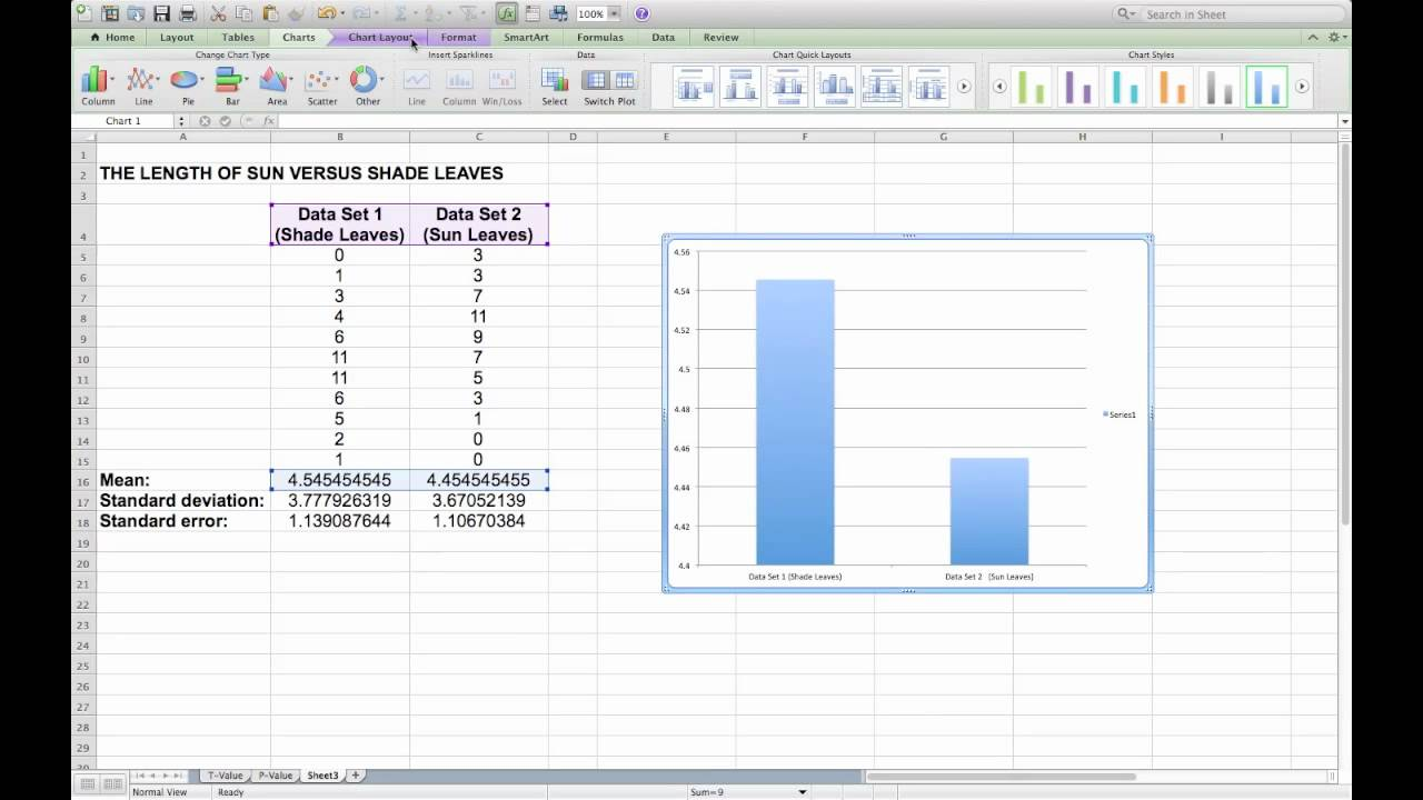 creating a column graph in microsoft excel