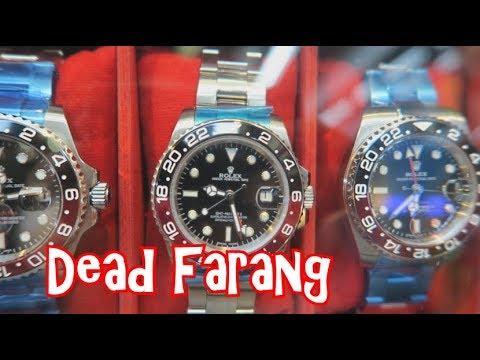 Fake Watches In Bangkok Thailand - Rolex, Patek Philippe, Breitling, Hublot,  TAG