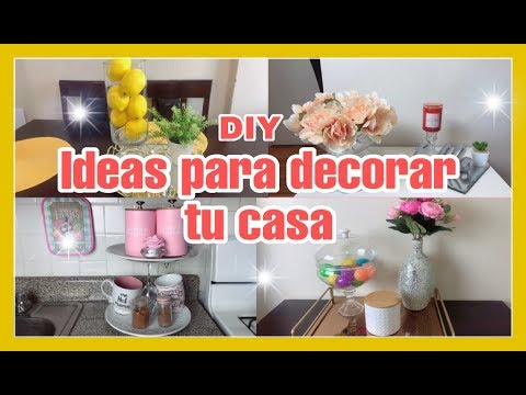 IDEAS PARA DECORAR TU CASA/DIY DOLLAR TREE/DECORACIONES