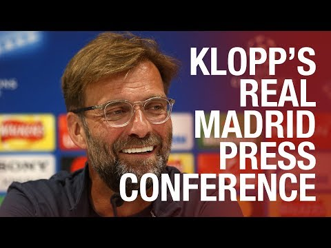 Klopp's champions league final press conference | real madrid