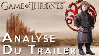 Analyse trailer saison 6 Game Of Thrones