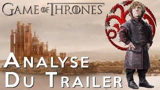 Analyse trailer saison 6 Game Of Thrones