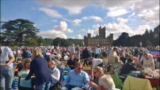 Battle Proms Concert, Highclere Castle, England, 2015