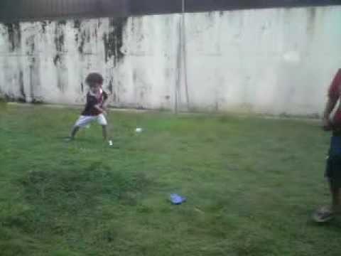 Anak ajaib umur 2 tahun golf player part1