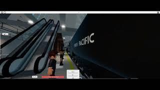 엘더셔 센트럴 화물열차 정차및 발차영상