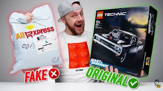 ❌ FAKE LEGO vs. ORIGINAL: Stavebnice Lego Technic Dodge Charger z AliExpressu! | WRTECH [4K]