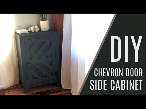 DIY: $50 Side Cabinet with Door