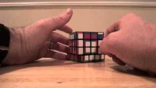 4x4x4 supercube layer by layer tutorial part 2: The second layer with parity
