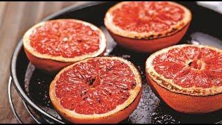 ★ Запеченный грейпфрут с корицей – простой и вкусный десерт. Готовь в режиме гриль