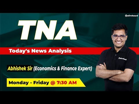 Current Affairs | Daily News - October 17 | IBPS PO | IBPS Clerk | SSC | Today's News Analysis