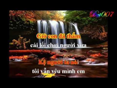 Mac ke nguoi ta noi +Noi buon china karaoke