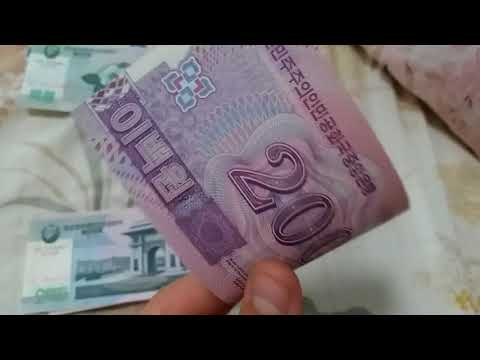 North Korean Currency Show