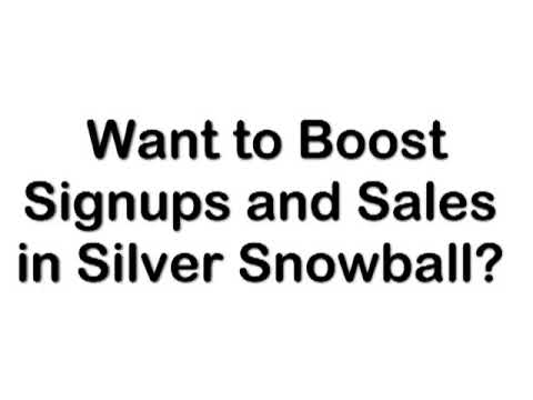 Silver Snowball: How To Promote Your Site
