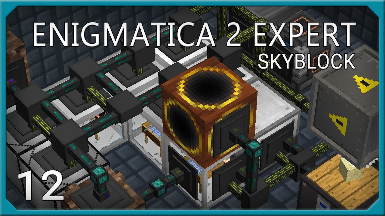Enigmatica 2 Skyblock Expert EP12 Sieve Automation
