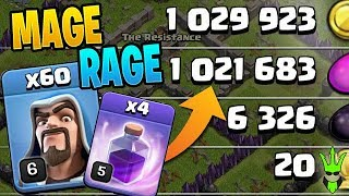60 ANGRY WIZARDS ARE SURPRISINGLY GOOD! - Clash of Clans