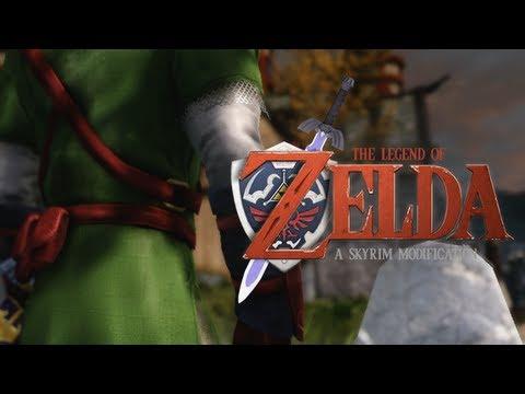 Skyrim Mods - Ocarina of Time, Majora's Mask and Windwaker (ZELDA)