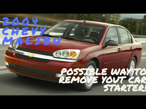 Possible way to remove your car starter/alarm/car alarm not working/alarm disable/alarm delete