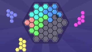 HEX BLOCKS PUZZLE GAME LEVEL 1-10