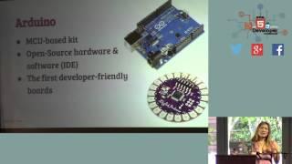 HTML5DevConf: Tomomi Imura, PubNub: Hardware Hacking for JavaScript Developers
