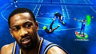 99 OVR GILBERT ARENAS is a DEMIGOD in NBA2K19 - 99 OVR PLAYMAKING SHARPSHOOTER