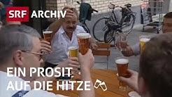 Hitzewelle Sommer 2003 | Rekordtemperaturen in der Schweiz | SRF Archiv