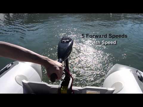Newport Vessels Trolling Motors In Use On The Water