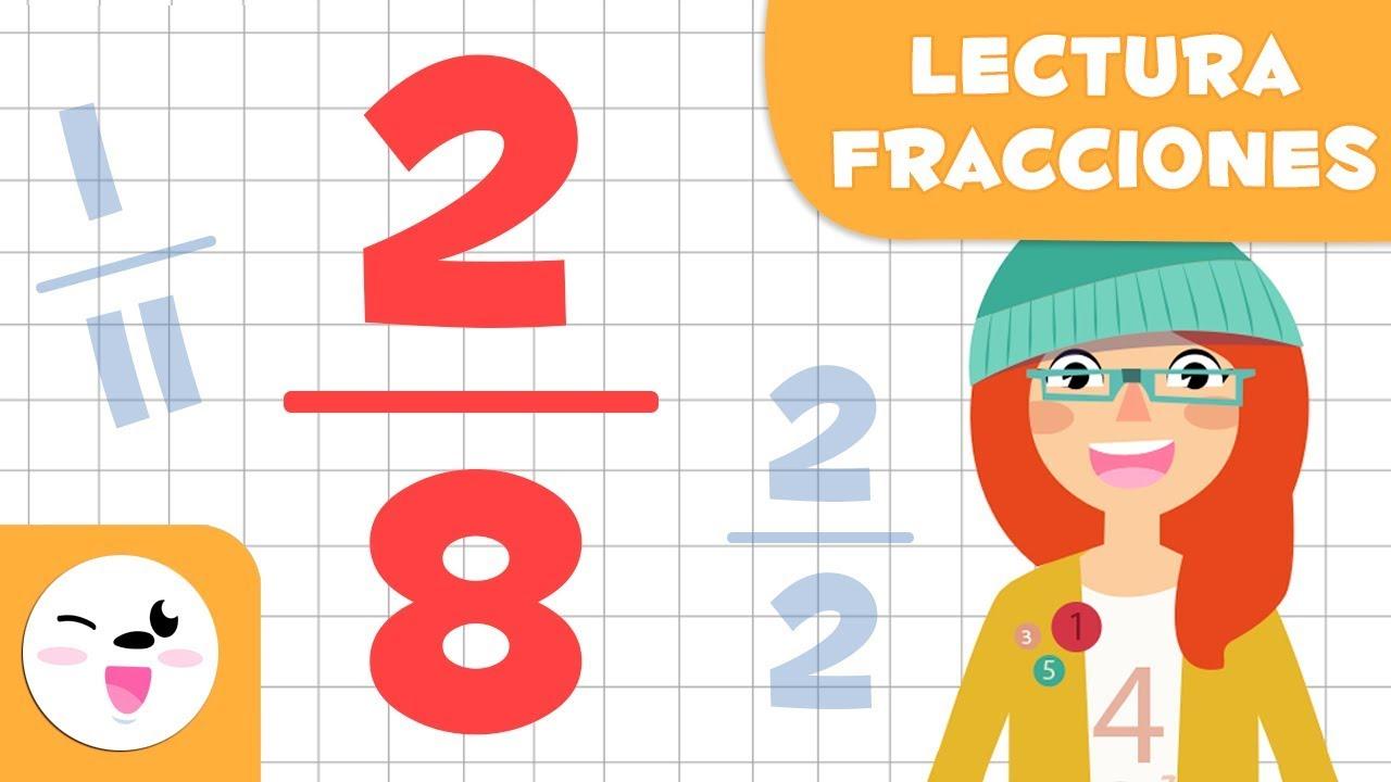 Aprende A Leer Fracciones Matemáticas Para Niños Youtube