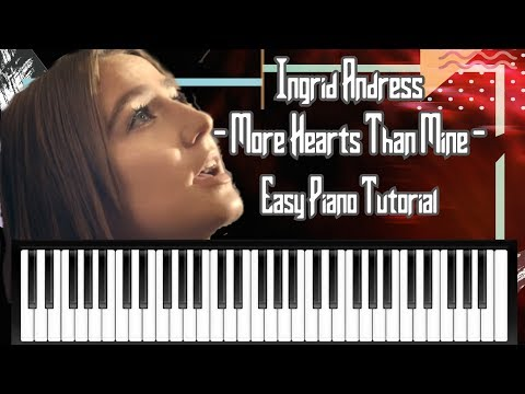 Ingrid Andress - More Hearts Than Mine - Simple Chords - Piano Tutorial
