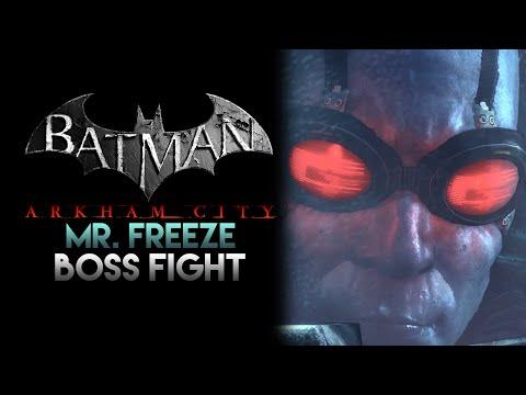 Batman: Arkham City - Mr. Freeze Boss Fight (New Game+) |