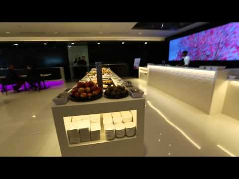 New Air New Zealand international lounge at Auckland Airport