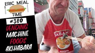 Vending Machine Foods Akihabara, Tokyo - Eric Meal Time #380