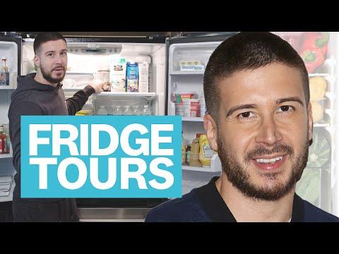Vinny From Jersey Shore Shows Us His Totally Keto Fridge   Fridge Tours   Women's Health