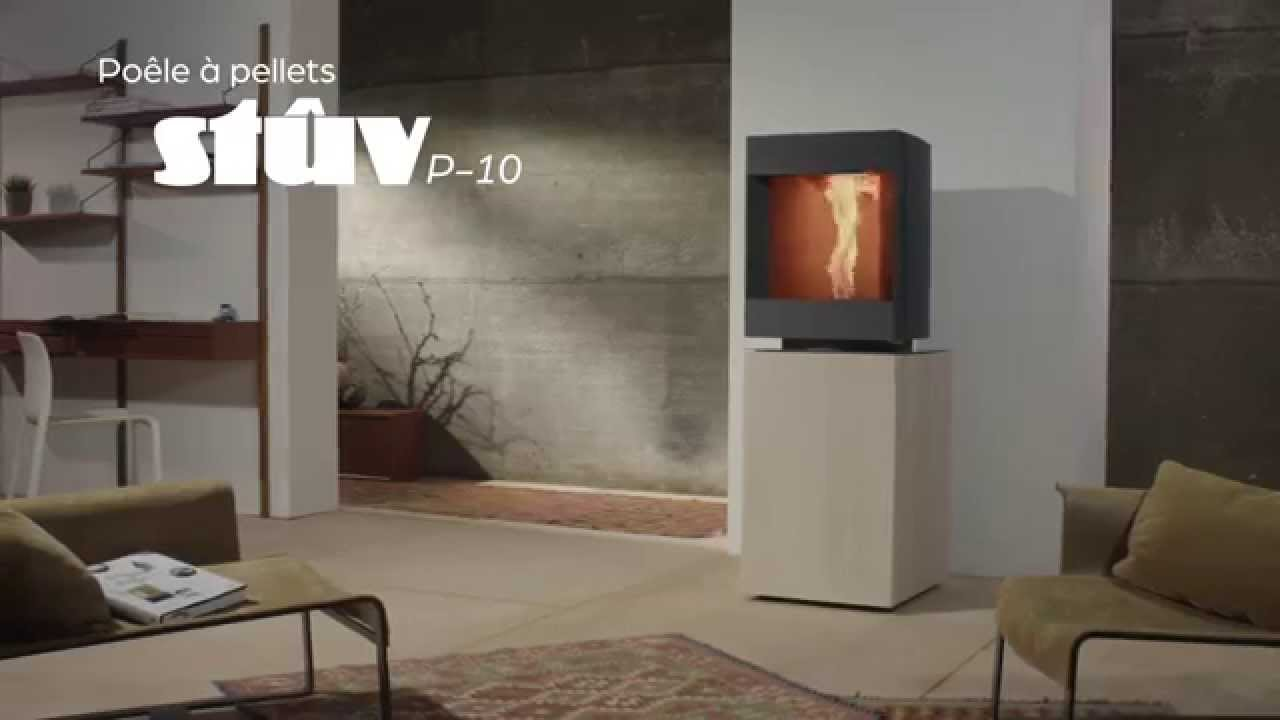 po le pellets stuv p 10 une nouvelle vision du feu youtube. Black Bedroom Furniture Sets. Home Design Ideas