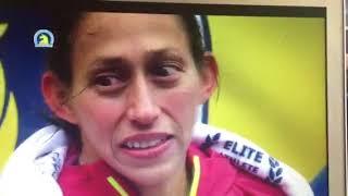 Boston Marathon 2018 Female Winner ceremony