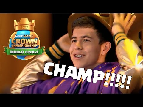 Clash Royale 2017 World Finals - The BEST player in the world!!!