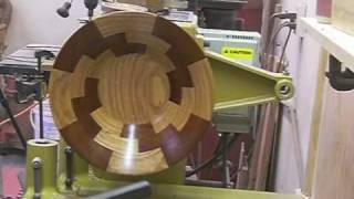 Turning A Segmented Bowl