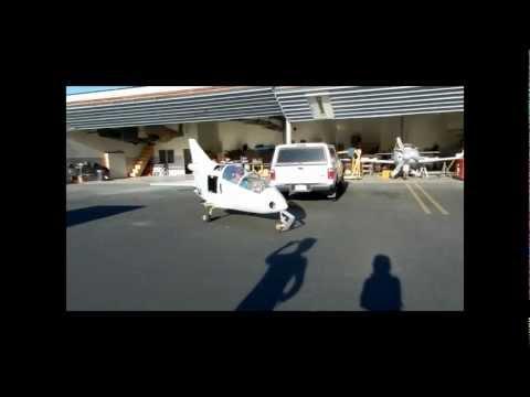 BD5  Smallest jet in the world Engine test TJ-100