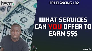 Know What Freelance Services YOU Can Offer (Fiverr research) screenshot 2